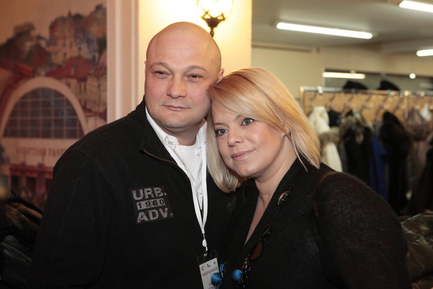 Яна Поплавская с Сергеем Гинзбургом