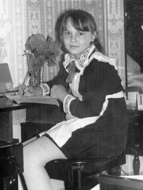 Татьяна Снежина в юности