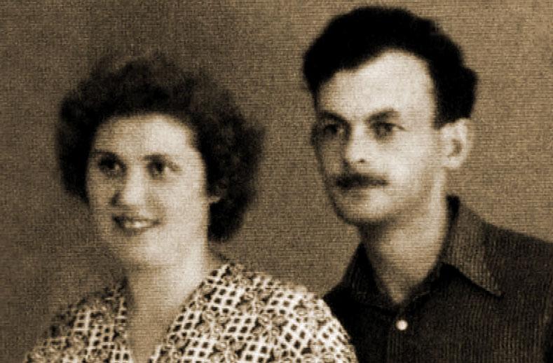 Булат Окуджава с Галиной Смольяниновой