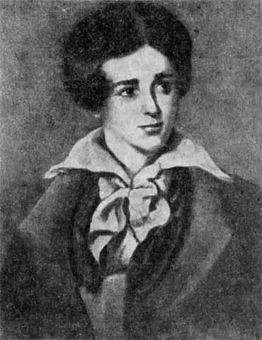 Джордж Байрон в юности