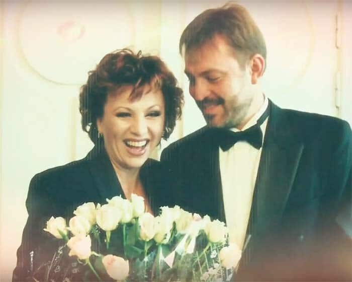 Валентина Легкоступова и Алексей Григорьев