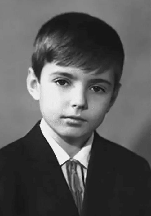 Геннадий Ветров в детстве
