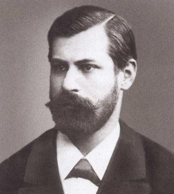Зигмунд Фрейд в молодости