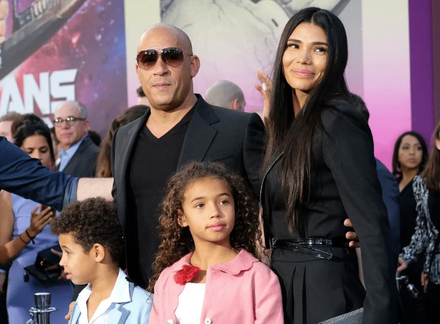 Вин Дизель с семьей