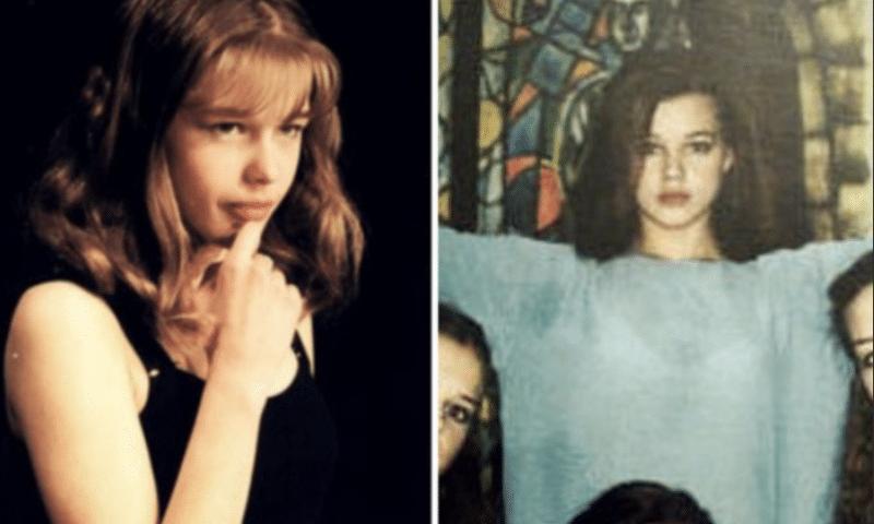Екатерина Шпица в юности