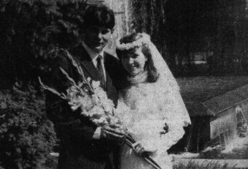 Свадьба Юрия Хоя и Галины