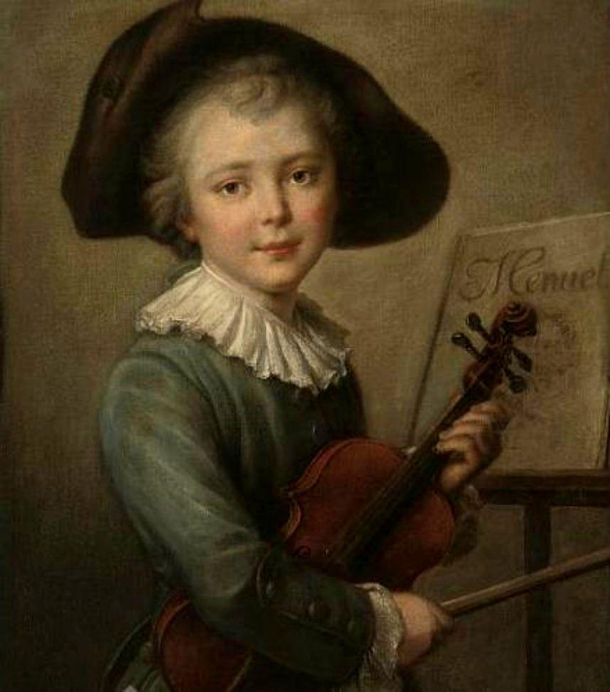 Портрет Шопена в детстве
