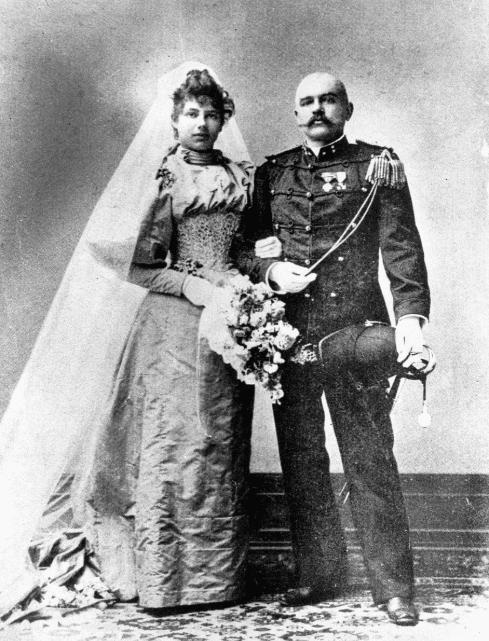 Мата Хари с мужем
