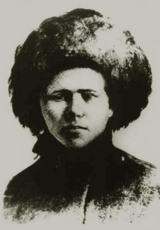 Василий Чапаев в юности