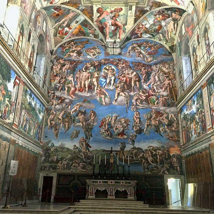 Фрески Сикстинской капеллы Микеланджело