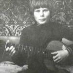 Юрий Хой в юности