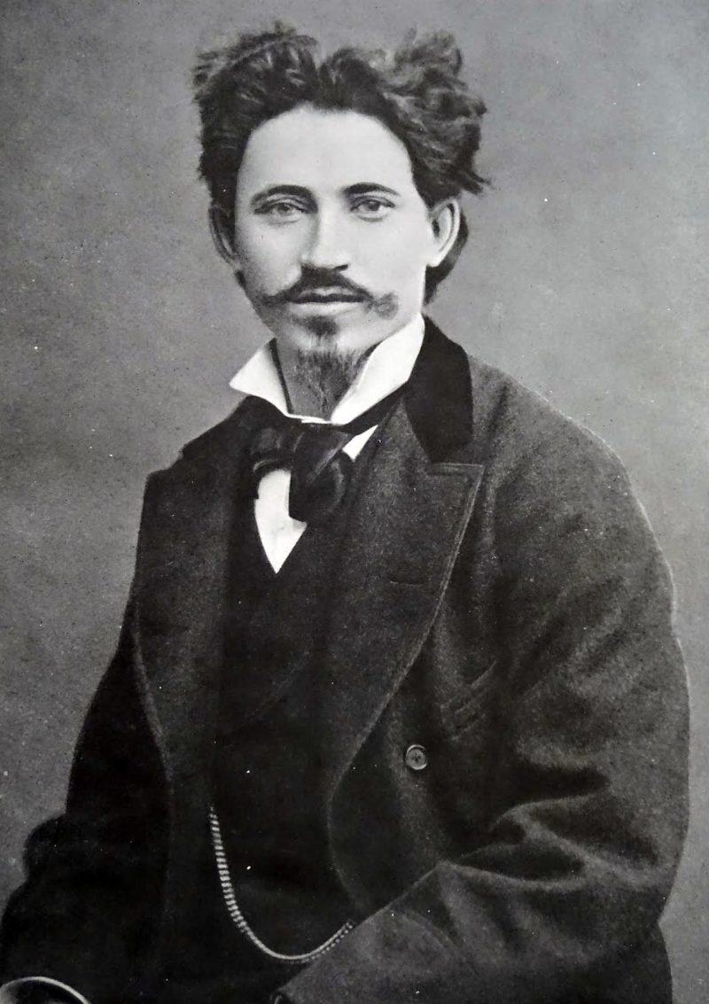 Илья Репин в молодости