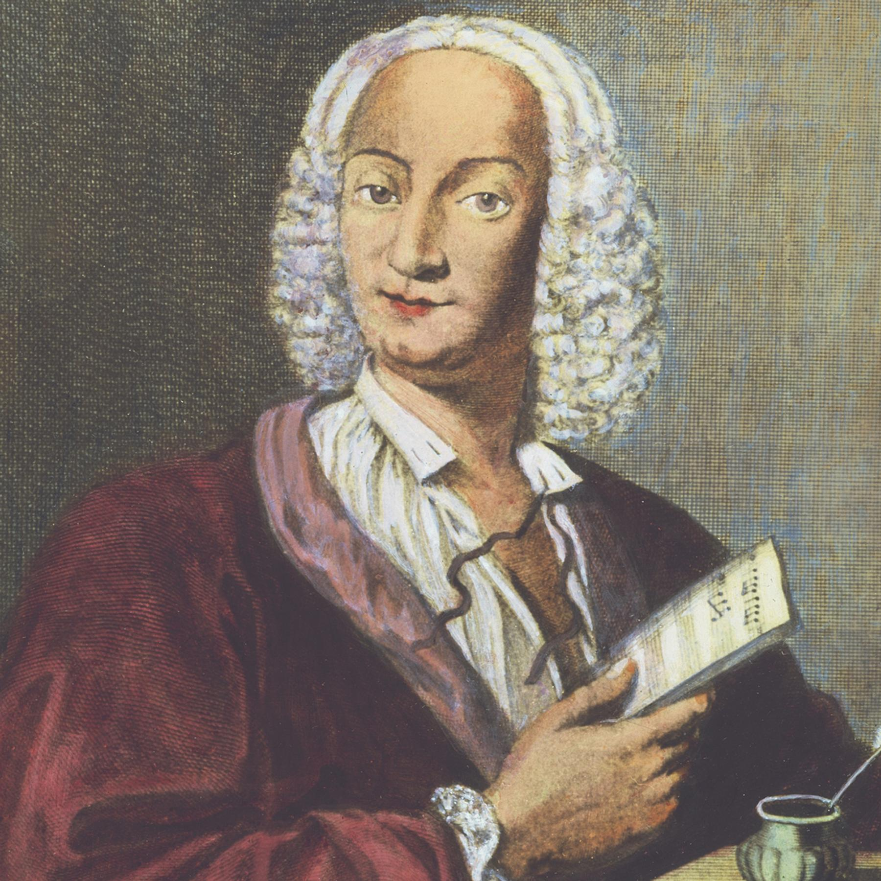 Портрет Вивальди