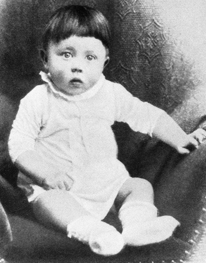 Адольф Гитлер в детстве