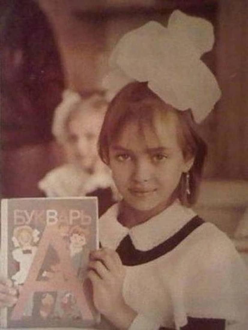 Ирина Шейк в детстве