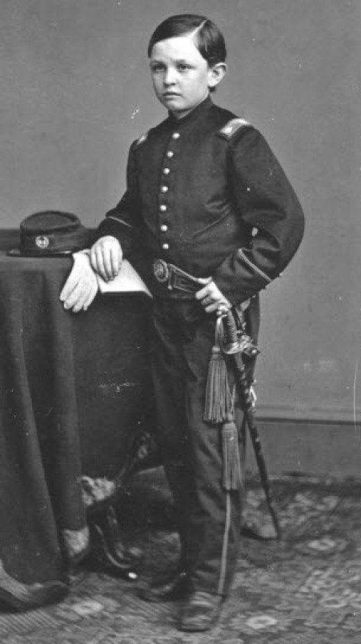 Авраам Линкольн в детстве