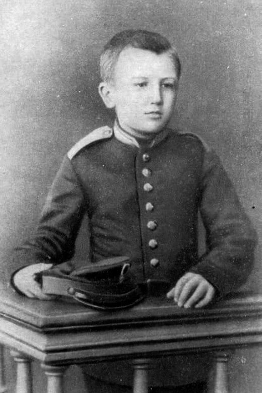 Александр Куприн в детстве