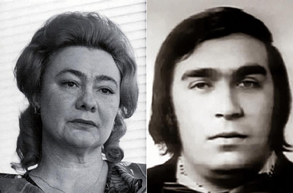 Галина Брежнева и Борис Буряца