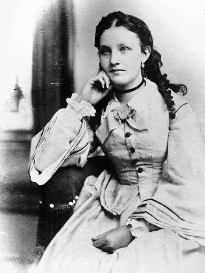 Первая жена Эдисона Мэри Стиллвел