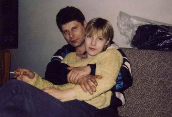 Юрий Хой с Ольгой Самариной