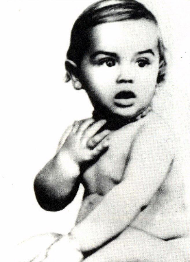 Ален Делон в детстве