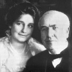 Томас Эдисон и Мина Миллер
