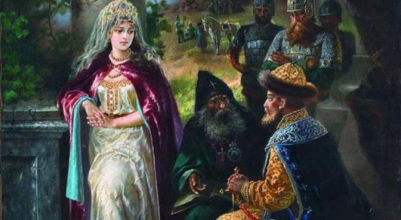 Ярослав Мудрый с женой Ингигердой