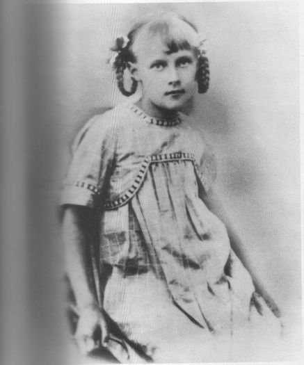 Астрид Линдгрен в детстве