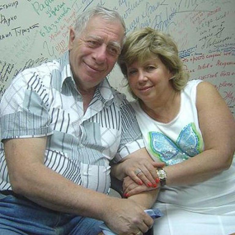 Лариса Рубальская с мужем Давидом