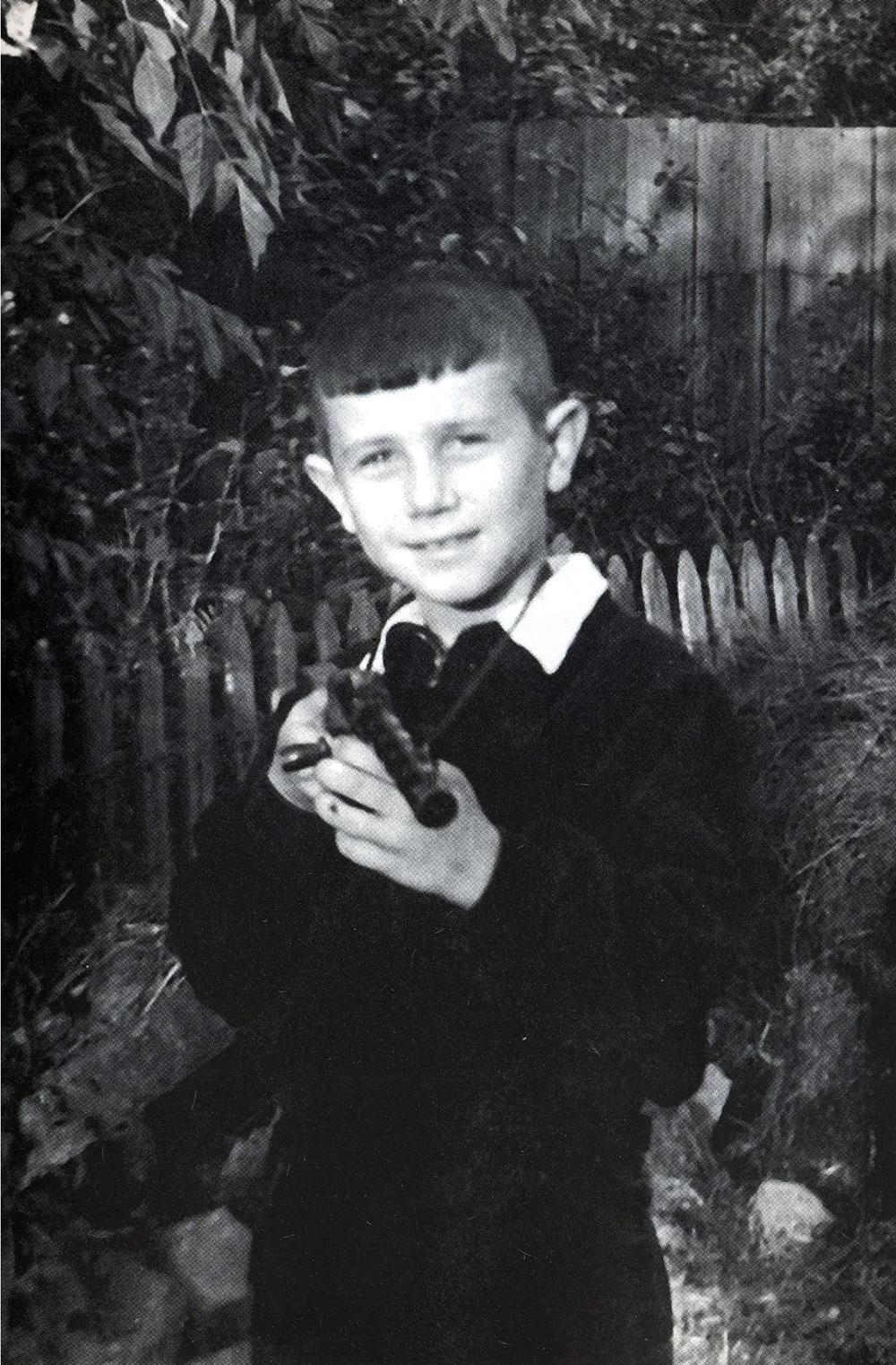 Владимир Винокур в детстве