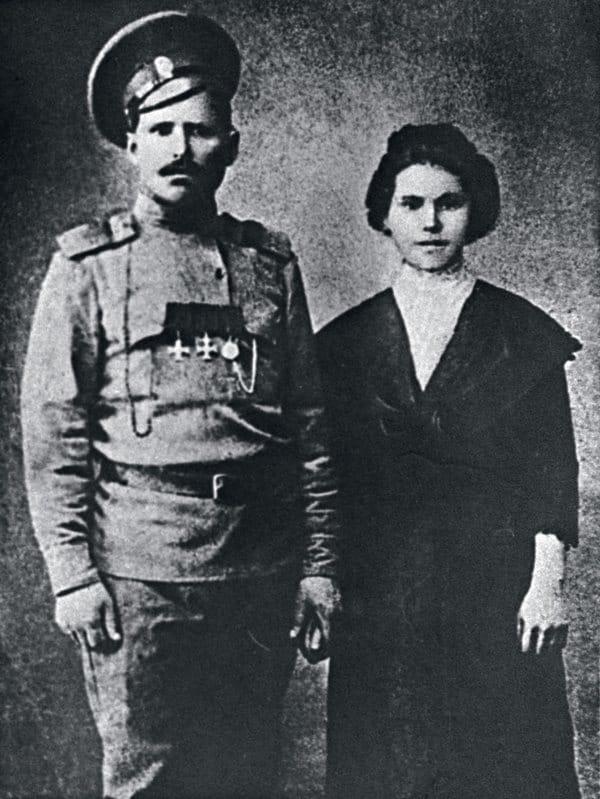 Василий Чапаев и Пелагея