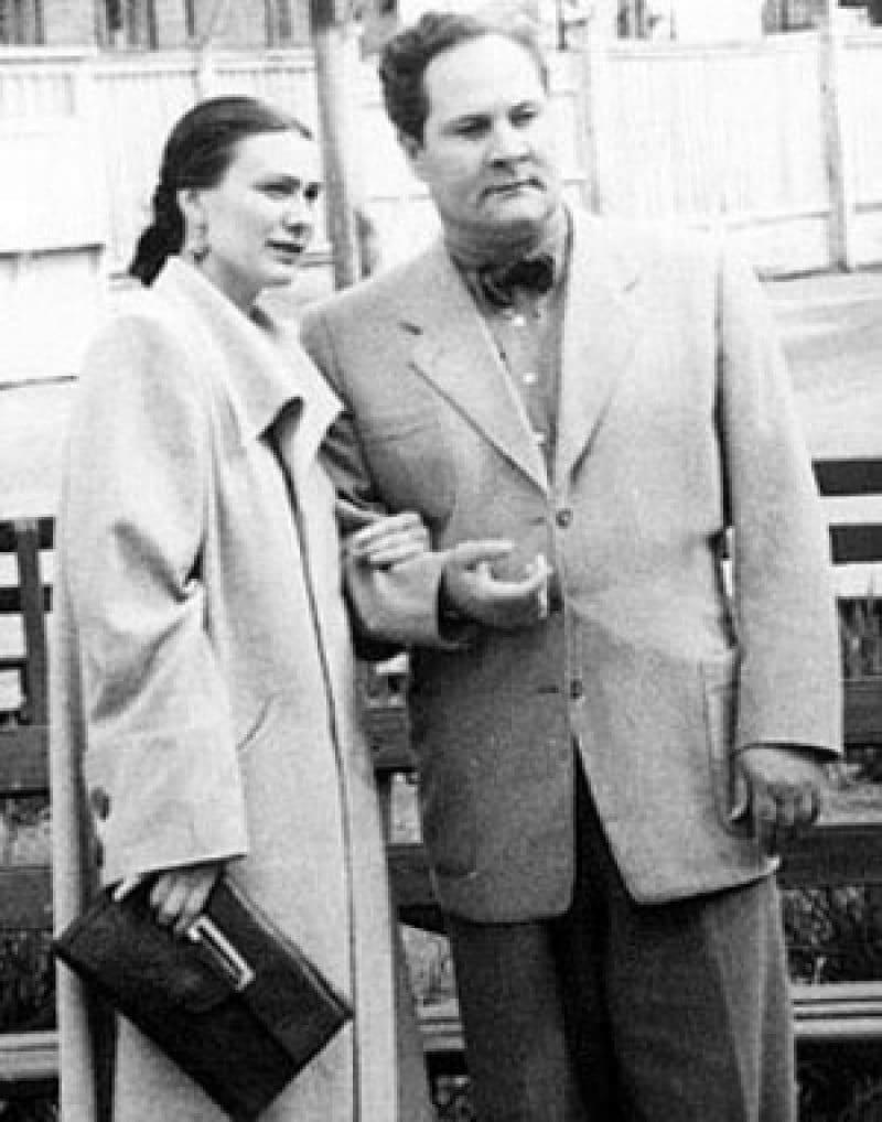 Галина Брежнева с мужем Евгением Милаевым