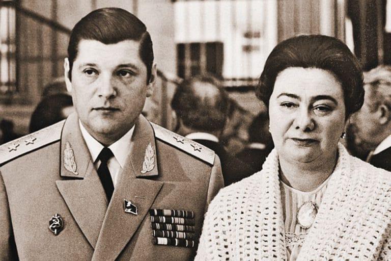 Галина Брежнева с Юрием Чурбановым