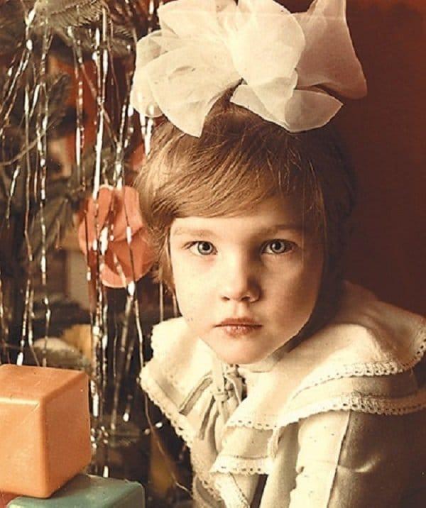 Наталья Водянова в детстве