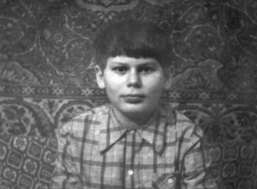 Юрий Хой в детстве