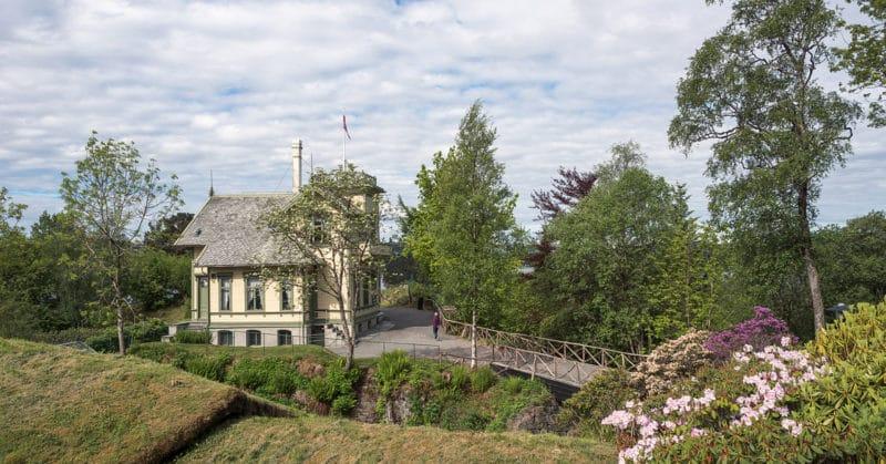 Дом «Тролльхауген» Эдварда Грига в Норвегии
