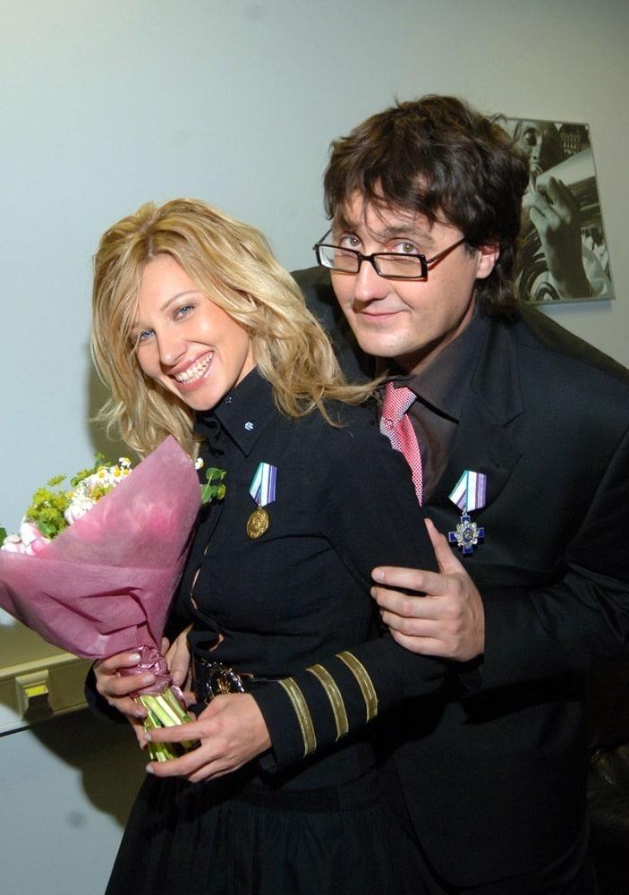 Ирина Нельсон с сыном