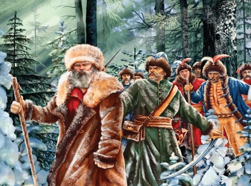 Картина Сусанин и поляки