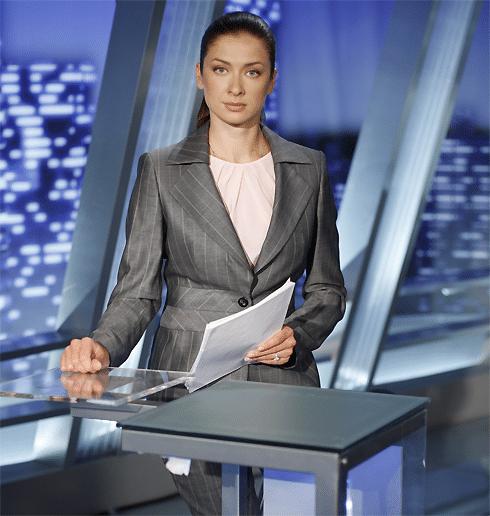 Мария Ситтель ведущая «Вести»