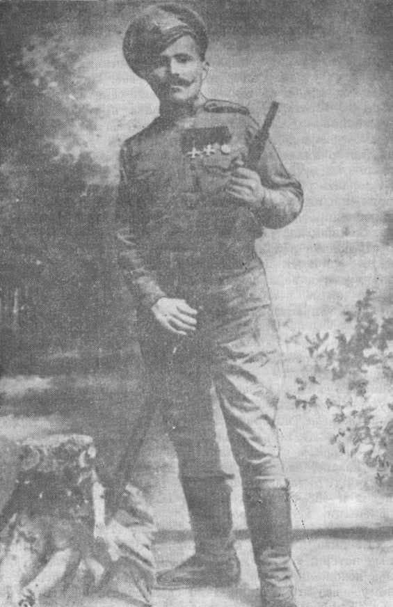 Василий Чапаев на войне