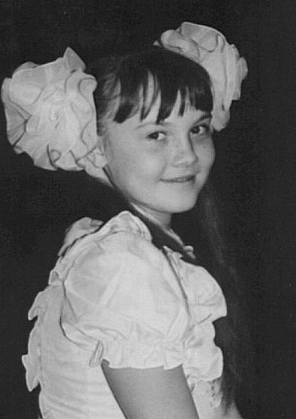 Татьяна Снежина в детстве