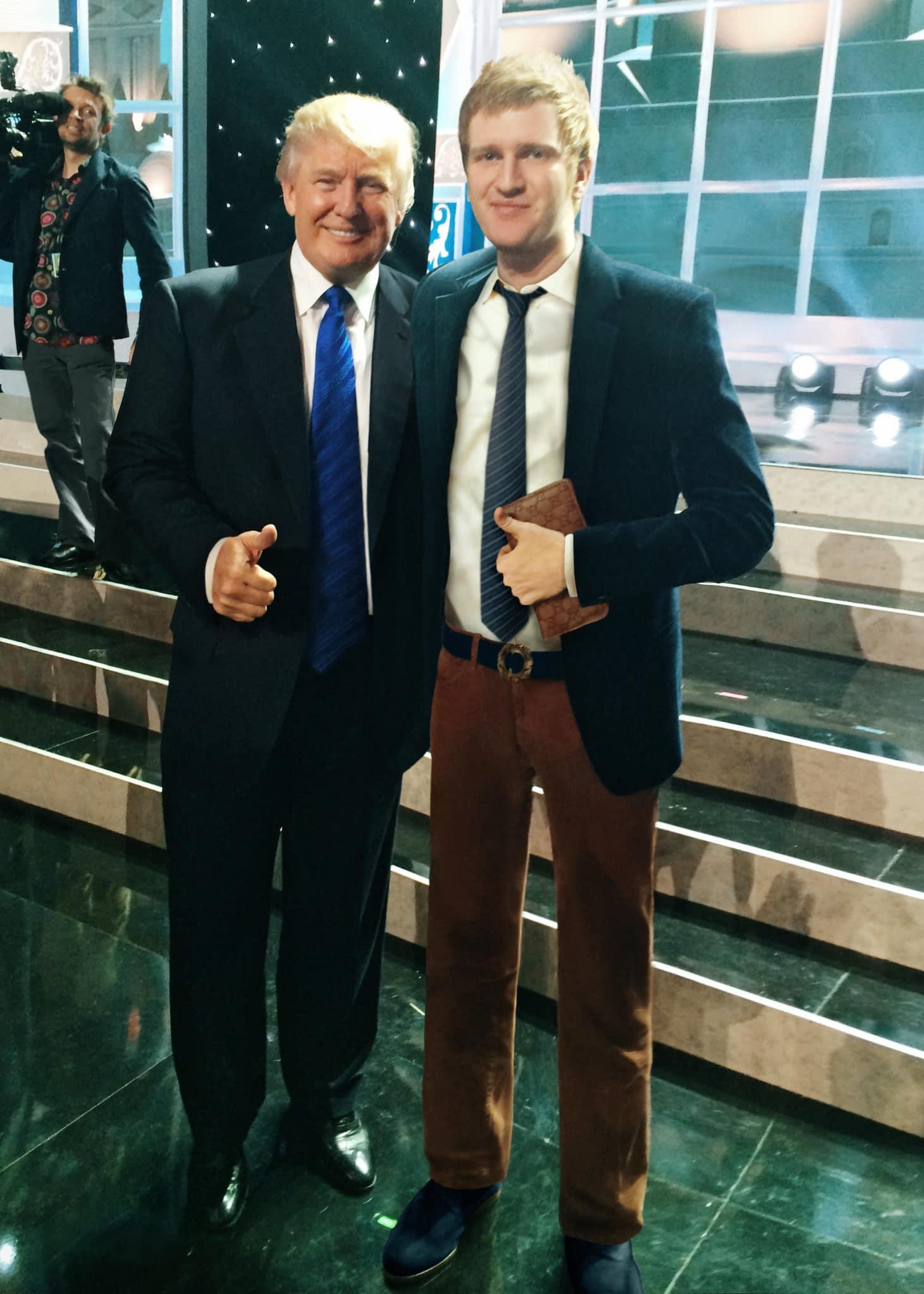 Александр Белов с Дональдом Трампом