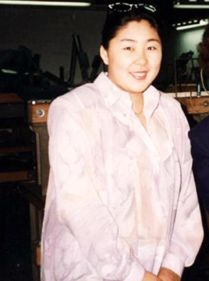 Анита Цой в юности