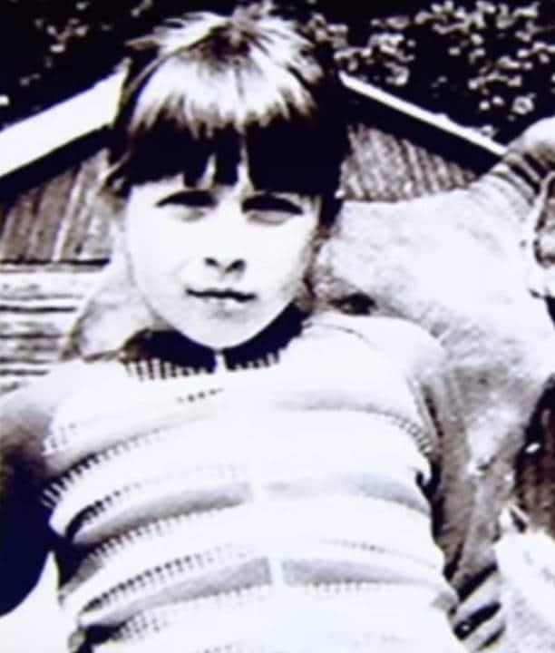 Яна Чурикова в детстве