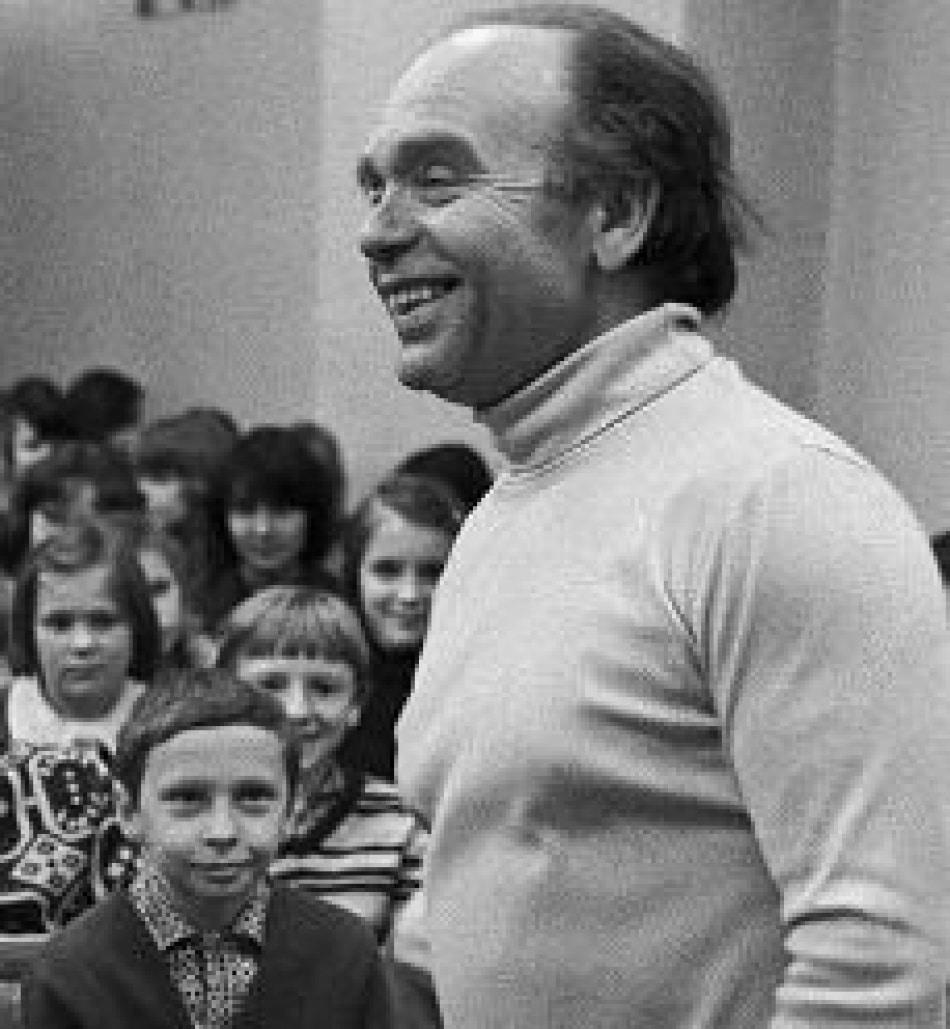 Владимир Шаинский в молодости
