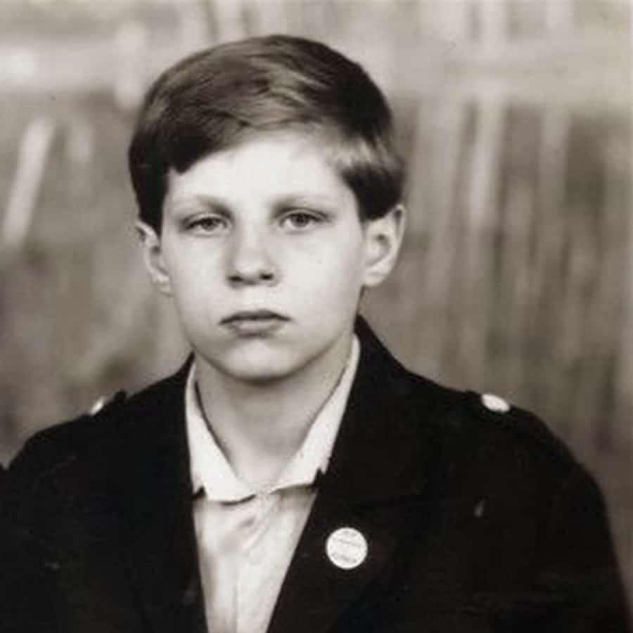 Федор Емельяненко в детстве
