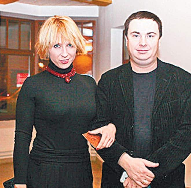 Яна Чурикова с Иваном Цыбиным