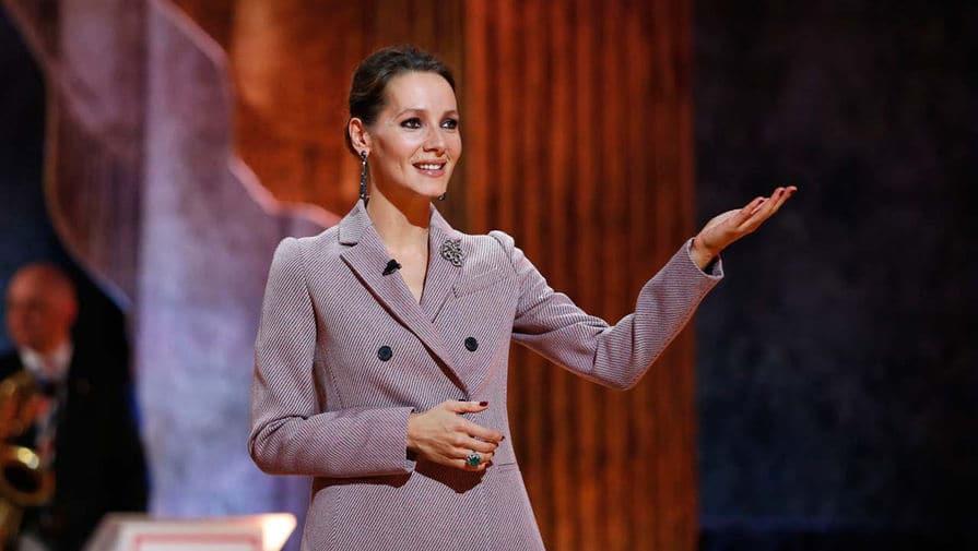 Дарья Златопольская в программе «Синяя птица»