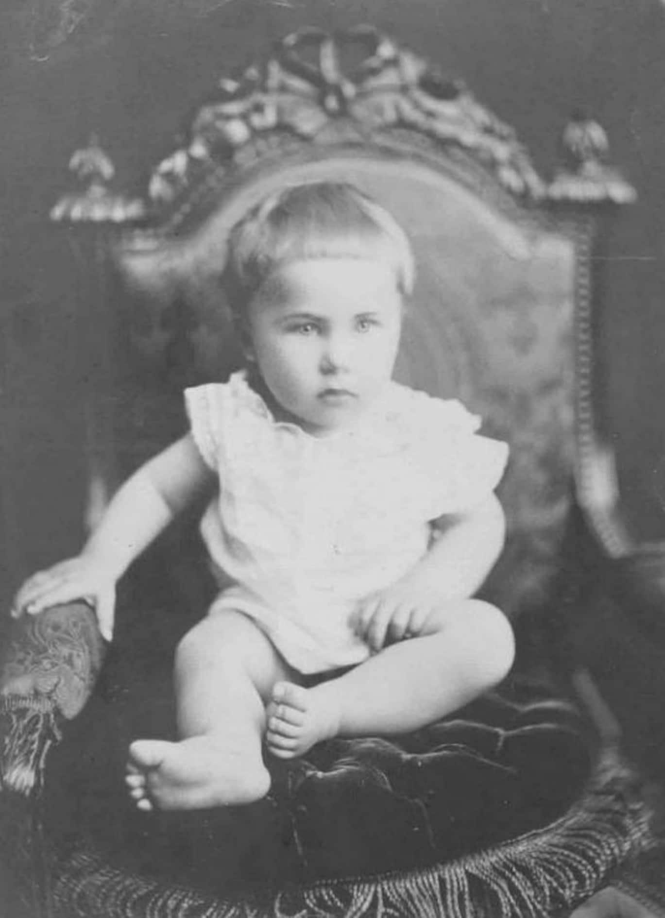 Андрей Белый в детстве