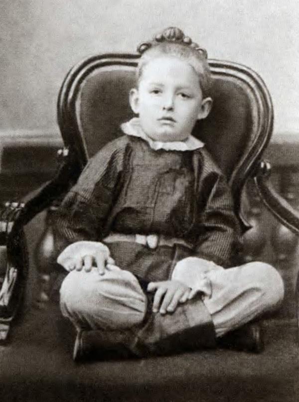 Константин Циолковский в детстве